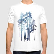 Winter Wolf SMALL White Mens Fitted Tee