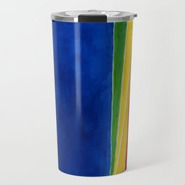 African American Masterpiece 'Atmospheric Effects'' by Alma Thomas Travel Mug