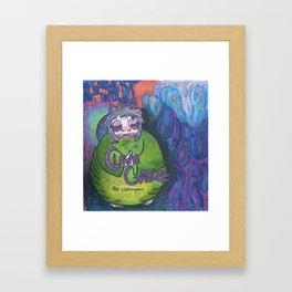 Clawn Gauze Framed Art Print