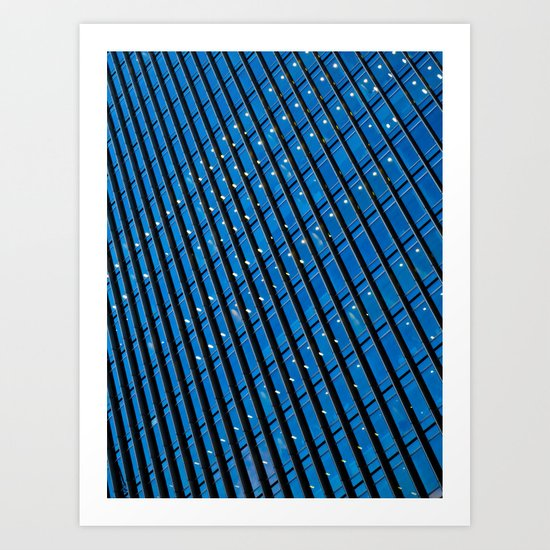 Skyscraper Abstract Art Print