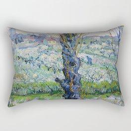 "Vincent Van Gogh ""View of Arles, Flowering Orchards"" Rectangular Pillow"