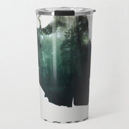 Lich (Typography) Travel Mug