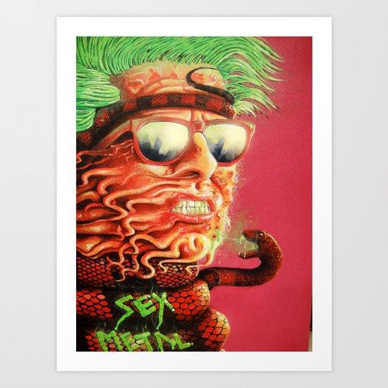 Sexmetal Art Print