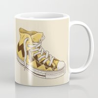 sneaker Mugs featuring Chuck by Terry Fan