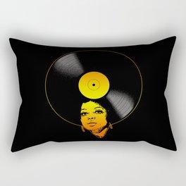 Afrovinyl (Soul) Rectangular Pillow