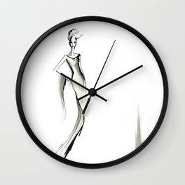 Stylized Elegance Wall Clock