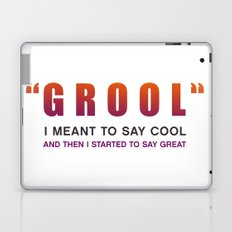Grool - Quote from the movie Mean Girls Laptop & iPad Skin