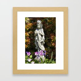Quan Yin in Spring I Framed Art Print