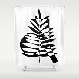 leaf art shower curtains society6 Shower Curtain 108 geometric leaf shower curtain