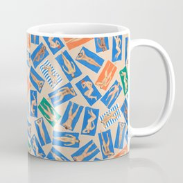 DUDE BEACH, by Frank-Joseph Coffee Mug