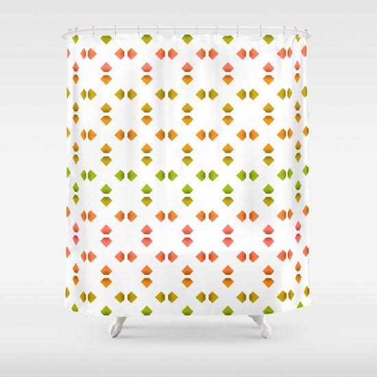 spring pattern   Shower Curtain