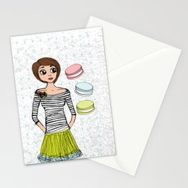 J'aime Les Macarons Stationery Cards