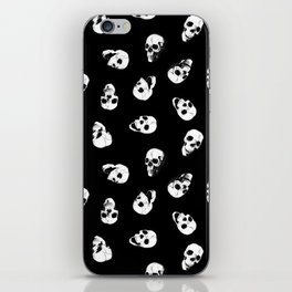 Gossiping Skulls iPhone Skin