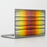 quilt Laptop & iPad Skins featuring Quilt Pattern  by Zenya Zenyaris