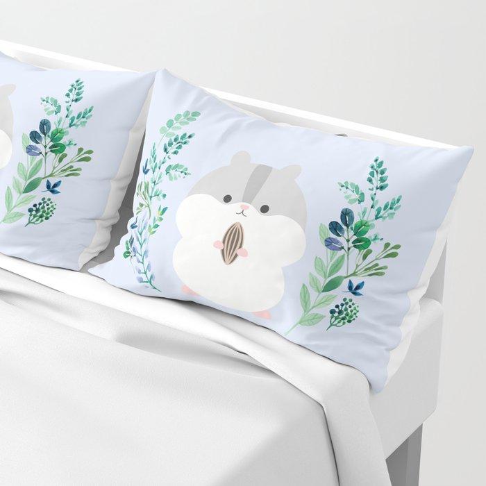 Furball in the garden Pillow Sham