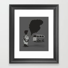 Smokebuster Framed Art Print