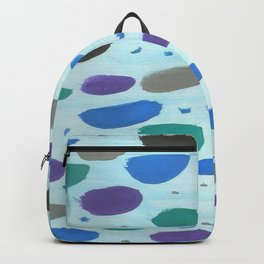 Winter Blue Ice Storm Backpack