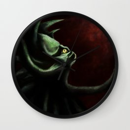 Shoggoth of Cthulhu Wall Clock