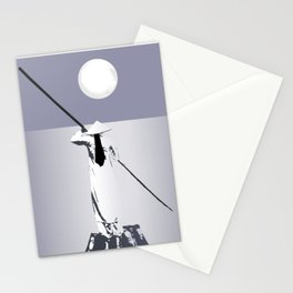 Exotic moonlight Stationery Cards