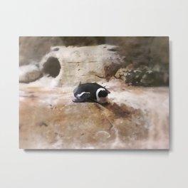 Photoshop Penguin No.1 Metal Print