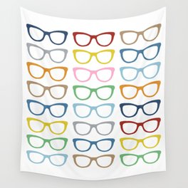 Glasses #3 Wall Tapestry