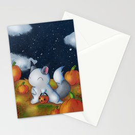 Ghost in the Pumpkins Stationery Cards