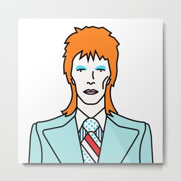David Bowie – Life on Mars? Metal Print