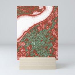 Sanlucar de Barrameda city map pop Mini Art Print