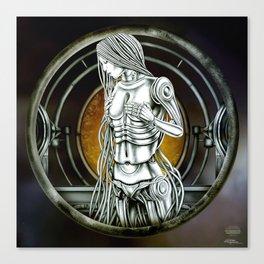 """Astrological Mechanism - Virgo"" Canvas Print"