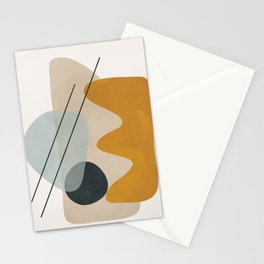 Abstract Shapes No.27 Stationery Cards