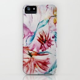 Asters iPhone Case