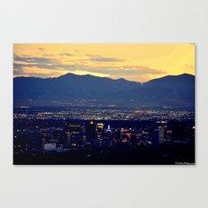 SaltLakeCity Canvas Print