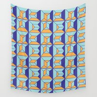 code Wall Tapestries featuring Coatl Code by Pamku