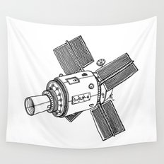 Satellite of Love Wall Tapestry