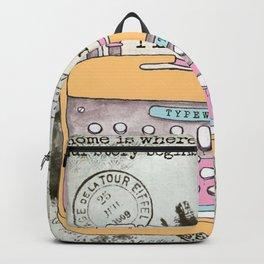 Typewriter #1 Backpack