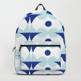 Blue discs Backpack