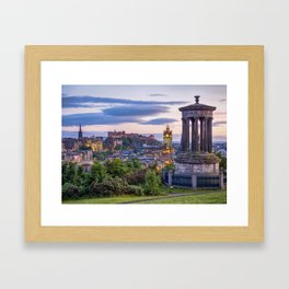 Calton Hill, Edinburgh, Scotland 2 Framed Art Print