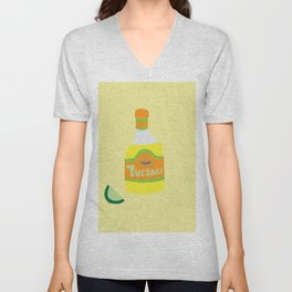 Tequila Tuesdays Unisex V-Neck