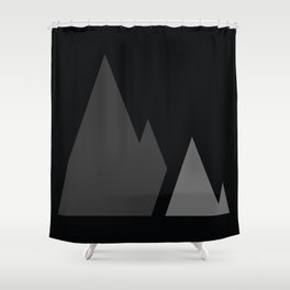 The Mountains Shower Curtain