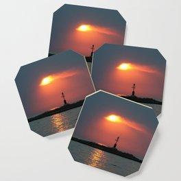 Sunset in Porec - Cloudy sky Coaster