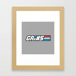Gains Joe Framed Art Print