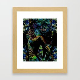 Succulent Succubus Framed Art Print