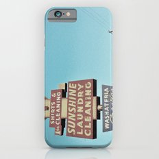 Sunshine Laundry Cleaning iPhone 6s Slim Case