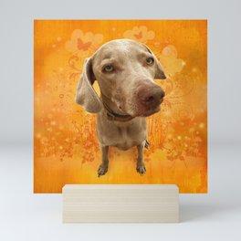 PARKER POSEY (tang) puffy cloud series Mini Art Print