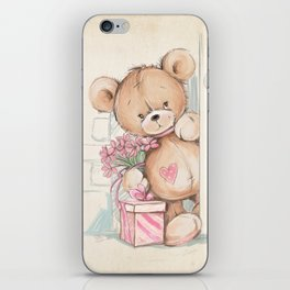 Bear in The Room iPhone Skin