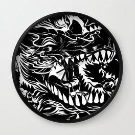 Wolf Core Wall Clock