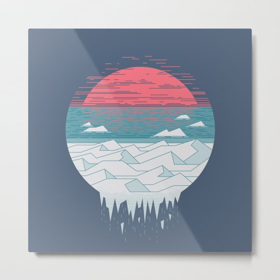 The Great Thaw Metal Print