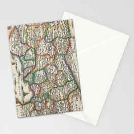 Vintage Map of Switzerland (1747)  Stationery Cards