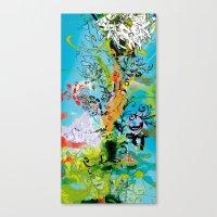 vegeta Canvas Prints featuring Vegeta by Latiber