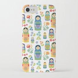 Russian Nesting Dolls iPhone Case